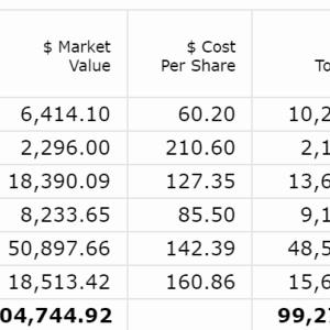 【2020年5月第4W】米国株ポートフォリオの運用状況