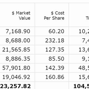 【2020年8月第2W】米国株ポートフォリオの運用状況
