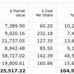【2020年8月第4W】米国株ポートフォリオの運用状況