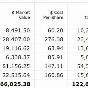 【2021年5月第2W】米国株ポートフォリオの運用状況