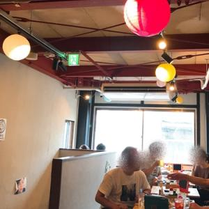 天満昼飲みはしご酒3軒目「屋台酒場shyウーロン🍻」