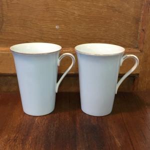 古いノリタケのマグカップ