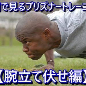 動画で見るプリズナートレーニング【腕立て編】