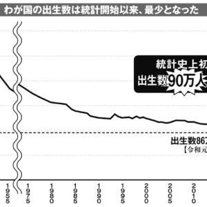日本の少子化問題は根が深い問題 / このままでは国家は衰退するー教育と啓蒙によって立て直しをはかれ