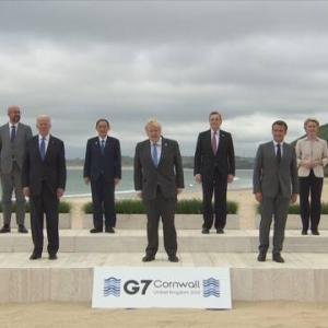 G7サミット 反中国で結束—— 国内世論80%が中国を脅威と回答 / 友好から対抗の時代へ