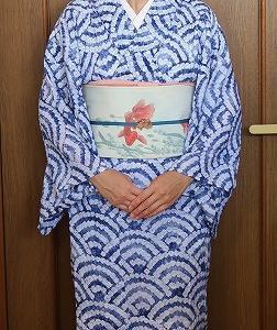 金魚コーデで太郎坊宮へ
