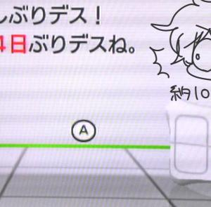 WiiFit始めました