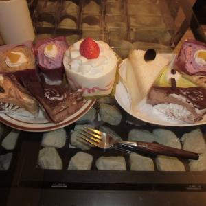 ケーキ&ヒスイバイキング