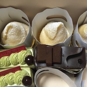 白玉団子パーティーとケーキパーティー