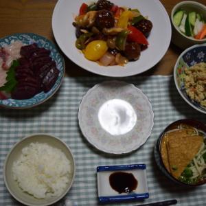 アスリートの夕食(手抜き編)