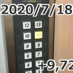 「配達は夜のお仕事」+9,720円(2020/07/18 UberEats配達日報)