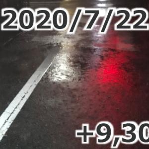 「恵みの雨」+9,304円(2020/07/22 UberEats配達日報)