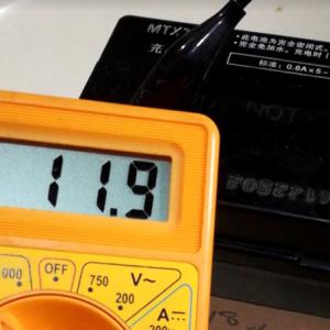 YX125DXのバッテリーが、あがってしまったぁー