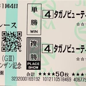 【予想】シンザン記念(G3) 2020年1月12日(日)