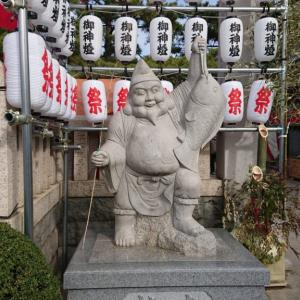 岩屋神社の十日戎に行きました