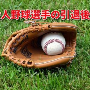 社会人野球、現役引退したその先は?