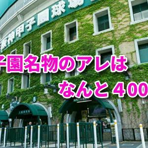 甲子園名物のアレはなんと400倍!【資産運用】