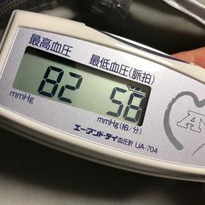 低血圧に陥る