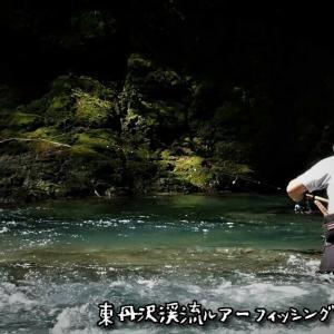 夏だ!東丹沢渓流ルアーフィッシング