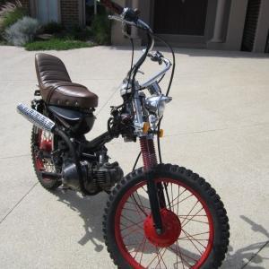 【バイク】1976 CT90 レストアの思ひで