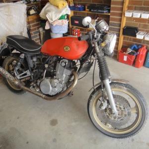 【バイク】1978 SR500のレストアの思ひで