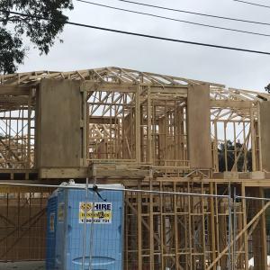 【オーストラリア不動産】オーストラリアの2x4住宅 建築現場を覗いた