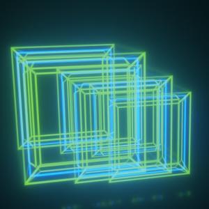 ホログラムの立体の作り方!!!「ホログラム綺麗だね編」