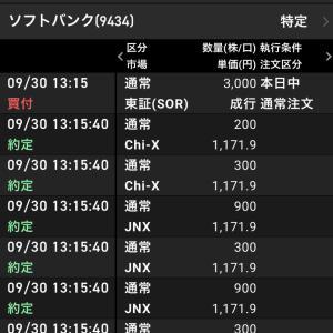 350万円SBKK約定履歴だよん
