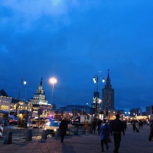 ロシア1日目。寒かぁ。