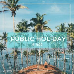 ニュージーランドの祝日 ! Public Holidays in NZ in 2020