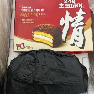 韓国からお菓子、食材いろいろと届いた