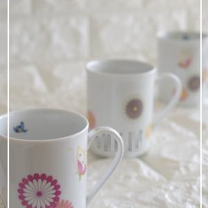 和の丸紋でマグカップ