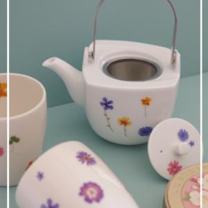 ほっこりと日本茶セット