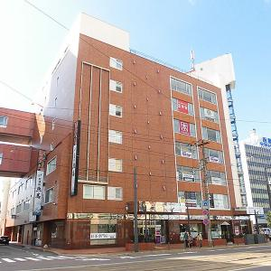 函館駅前ビル「ふらっとDaimon」のワンコインランチ
