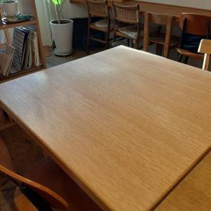 テーブルをリフォーム