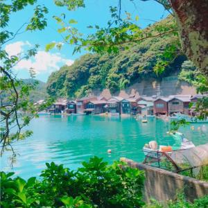 京都の舟屋と絶景ランチ