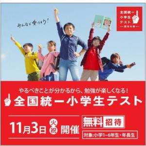 全国統一小学生テスト 6月から11月の結果推移 上の子の場合。
