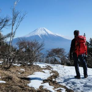 毛無山で2020初富士見三昧