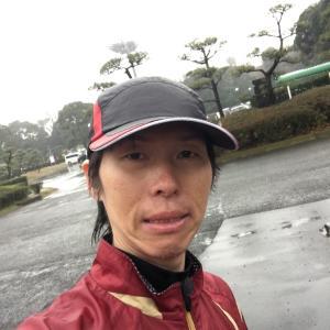雨と嵐に負けたLSD→東京マラソン一般参加中止