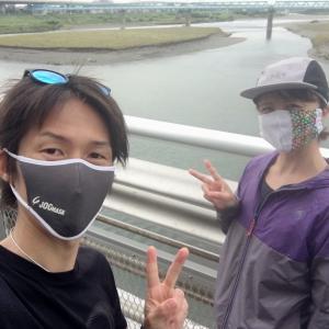 疲労抜きJOG&WALK→ホールアップルパイ
