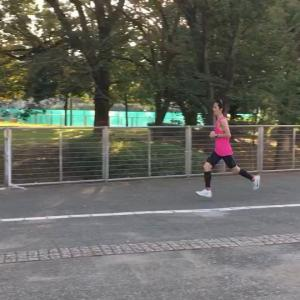 "3'50""/kの20k走→お墓参り→寝落ち"