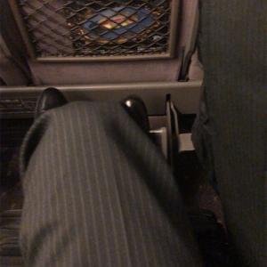新幹線グリーン車に乗ってみた