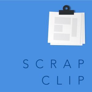 新聞スクラップアプリ「ScrapClip」