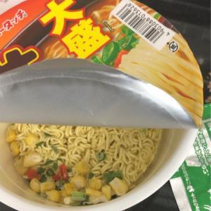 カップ麺:ヤマダイ 大盛り味噌バター味ラーメン