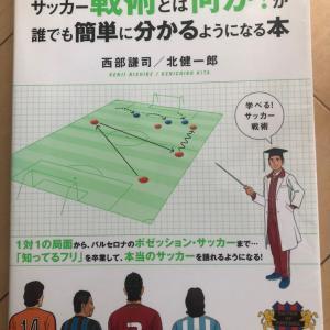 サッカーの辞書的な本。