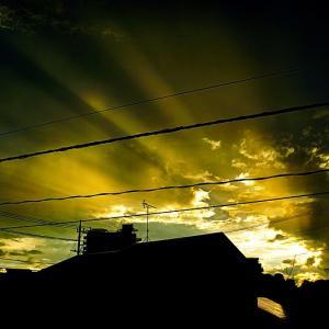 夕景 雷雨のあと。 前編
