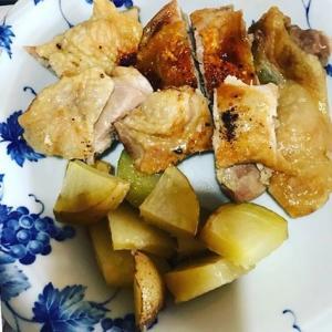 鶏もも肉のカリカリ焼き🐓