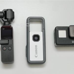 Canon iNSPiC REC(FV-100)とGoPro HERO7 BlackとDJI OSMO PocketとiPhone Xの静止画画質比較しました
