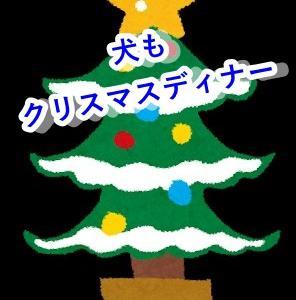 【手作り犬ご飯】犬もクリスマスディナー