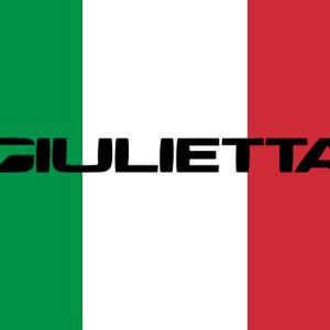 【 ジュリエッタ ヴェローチェ・マット 】マットグレーの特別色は限定50台。クールなつや消しが美しさを際立てる。